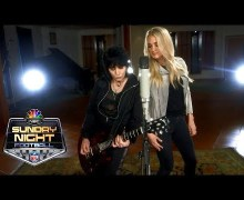 Inside Look @ Sunday Night Football Opener w/ Joan Jett & Carrie Underwood