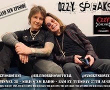 OZZY SPEAKS: Brand New Episode Airs Tuesday – Ozzy's Boneyard – SiriusXM