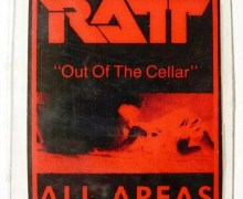 RATT 'Out of the Cellar' Certified Platinum On This Day In History