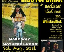 15th Annual Ride For Dime & BackBeat BlackTooth BBQ w/ Dave Grohl – Arlington, TX