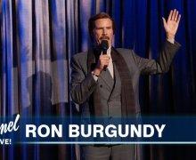 Ron Burgundy on Jimmy Kimmel Live – Will Ferrell – 2019