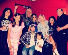 "Sebastian Bach w/ Dj Ashba – + ""can't wait to rock with you in the studio"""