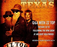 ZZ Top Q&A @ Arclight Pacific Cinerama Dome, Hollywood – That Little Ol' Band From Texas