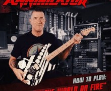 "Annihilator: Jeff Waters Guitar Lesson – ""Set The World On Fire"" – How to Play"