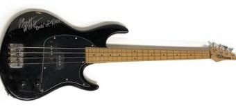 Avenged Sevenfold: Original Bassist Auctioning Rare Bass 2019