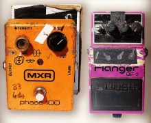 "Billy Duffy, ""Early Cult Pedals"" – Dunlop MXR Phase 100+Boss Flanger BF-2 Settings – Guitar"