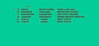 Bon Iver 2020 Asia Tour – Seoul, Bangkok, Singapore, Jakarta, Tokyo