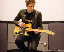 SPOON: Britt Daniel Fender Telecaster Thinline Signature Guitar