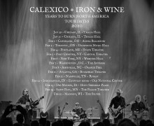 Calexico / Iron & Wine 2020 US Tour Dates Announced