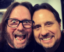 Gary Holt & Dave Lombardo @ Misfits Concert In Oakland 2019