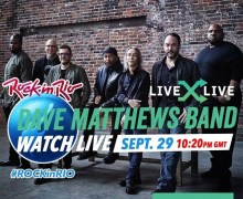 Dave Matthews Band: Rock in Rio 2019 – Live Stream Concert