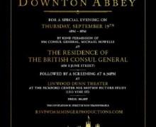 "Billy Idol, ""Nice seeing a screening of Downton Abbey movie tonight"" 2019"