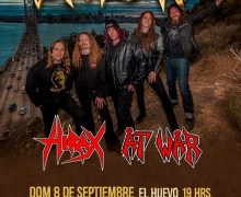 Exodus 2019 Lima, Peru Concert Cancelled ADD Valparaiso, Chile Show w/ At War/Hirax