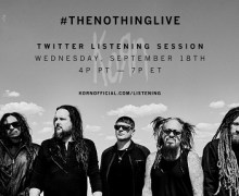 Korn 2019: Twitter Album Listening Session #TheNothingLive