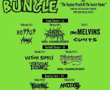 Mr. Bungle: Special Guests Announced – Possessed, Melvins, Hirax, Cattle Decapitation…..