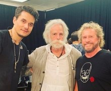 Sammy Hagar, Bob Weir @ John Mayer Concert 2019 – Chase Center San Francisco