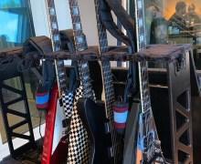 "Scott Ian, ""GEAR NERD ALERT. This is my fly-rig."" – Guitars"