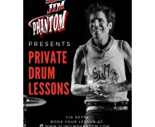 Slim Jim Phantom: Private Drum Lessons Opportunity – Stray Cats 2019