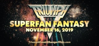 Triumph+Band Documentary=Chance To Attend Special Event in Toronto 2019 – Opportunity