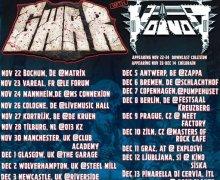 Voivod/GWAR 2019 Europe/UK Tour