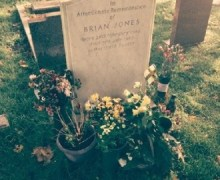 Pete Way Visits Gravesite of Brian Jones @ Cheltenham Cemetery – The Rolling Stones