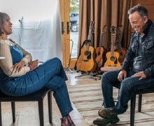 Bruce Springsteen on CBS This Morning w/ Gayle King 2019