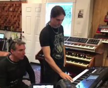 "Derek Sherinian: Writing with Kiko Loureiro for ""Mystery Record"""