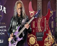 ESP Guitars Introduces New Kirk Hammett Ouija Guitars – Purple Sparkle & Red Sparkle 2020