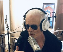 "Michael Des Barres on Recording Vocals, ""Now I take my time & enjoy the process"""