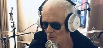 """Michael Des Barres on Recording Vocals, """"Now I take my time & enjoy the process"""""""