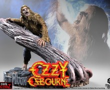 "Ozzy Osbourne ""Bark at the Moon"" Statue"