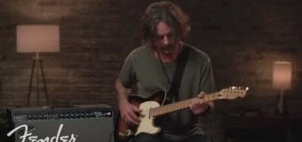 Richie Kotzen Talks Fender Tone Master Twin Reverb Amp – VIDEO