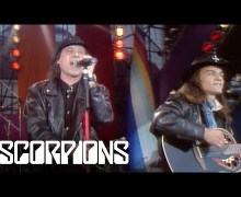 """Scorpions: NEW VIDEO Klaus & Matthias Perform """"Wind of Change"""" from 1992"""