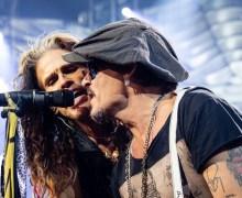 "Aerosmith w/ Johnny Depp Las Vegas 2019 ""Toys in the Attic"" VIDEO"