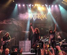 "Anthrax: ""Exciting Things Up Our Metal Sleeves For 2020"""