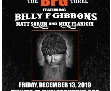 Billy F. Gibbons w/ Matt Sorum Music Drives Us – Norwood Space Center – Tickets – MA 2019