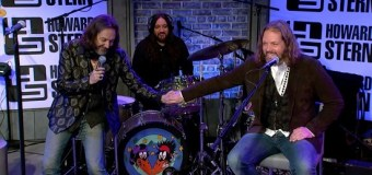 The Black Crowes on Howard Stern Show 2019 – Reunion 2020 – VIDEO – Interview