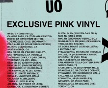 Cold War Kids: Urban Outfitters Locations 2019 – Limited Pink Vinyl/LP 'New Age Norms 1'