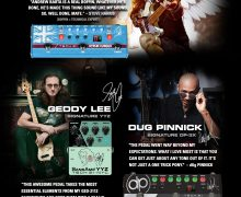 Tech 21: Steve Harris, Geddy Lee, Dug Pinnick – Signature SH1, YYZ, DP-3X – Tech21 – Demos