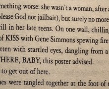 "Gene Simmons, ""From Stephen King's DOCTOR SLEEP…"""