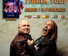 Helloween 'United Alive' BLU-RAY/DVD Chart Positions 2019