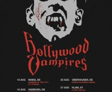 Hollywood Vampires 2020 European Tour Dates Announced – Mainz, Hamburg, Berlin, Munich, Milan….