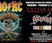 Monsters of Rock Cruise Pre-Party 2020 w/ Madam X, Lillian Axe & Cold Sweat