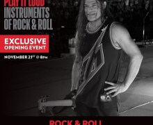 Metallica: Play It Loud Exhibit w/ Kirk Hammett & Robert Trujillo – Rock Hall 2019