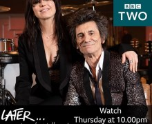 "Ronnie Wood: ""I'm presenting Later with Jools Holland with Imelda May"" BBC Two"