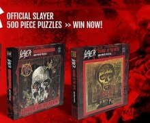 Slayer Puzzle Giveaway 2019 – Opportunity – Reign in Blood, South of Heaven, Seasons in the Abyss