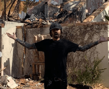 Tommy Lee's MTV Featured Malibu Home Burns in the California Fires