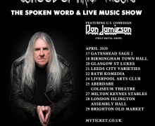Saxon's Biff Byford: 2020 Solo UK Dates Announced w/ Don Jamieson – London, Leeds, Bath, Birmingham….