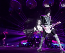 "KISS ""Black Diamond"" @ Kyocera Dome Osaka, Japan 2019 End of the Road Tour"