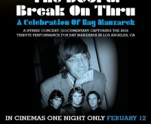 The Doors – Break on Thru – A Celebration of Ray Manzarek Documentary in Cinemas 1 Night Only